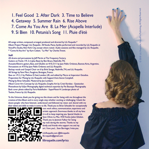 """Be Inspired"""": The Liner Notes   LiLi Roquelin"""